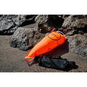 Zone3 Swim Safety Cinturón con bolsa Tow Float, orange